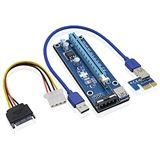 N/A - USB 3.0 pci-e pci express 1x to 16x riser card