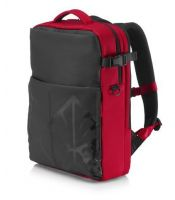 HP - HP ACC Case Backpack Omen Red, 4YJ80AA